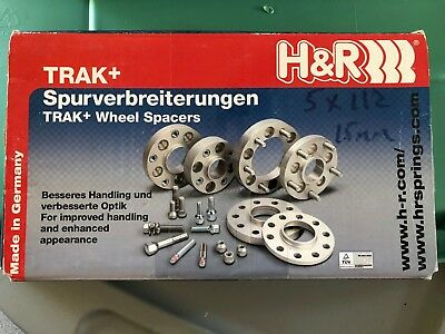 Wheel Spacer 5x100 and 5x112 15mm H&R