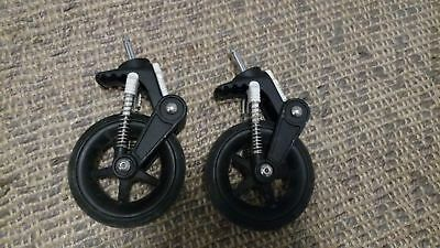"Bugaboo Cameleon 3 Front Swivel Wheels (Pair) two Small 6"" 3rd Genration Part"