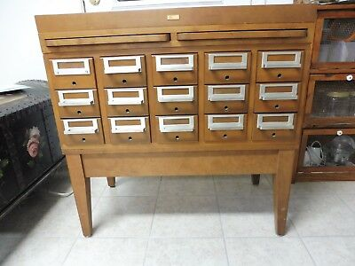 15 Drawer Card Catalog crafts organizer small part organizer jewelry maker item