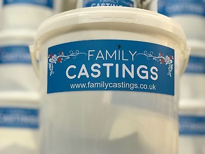 Family Hand Casting Kit Deluxe Alginate Plaster Kits Hand Mould + Bucket