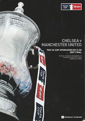 2007 FA CUP FINAL CHELSEA v MANCHESTER UNITED