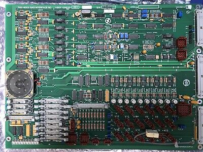 THERMCO 124510-001 TMX-90XX Gas Interface Board,  PCB, Used