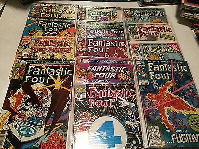 Comic Book Lot - Fantastic Four - 13 Issues - Annual, Chronicles + More