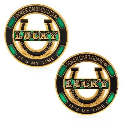 Lucky Poker Card Guard It's My Time Commemorative Coin Collection Art Gift Craft