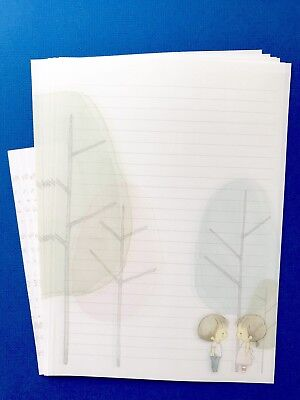 Beautiful Letter Writing Set / Note Paper Scrapbook /planner /journal