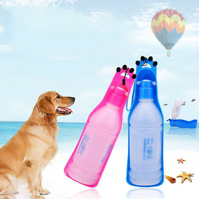 350/600ml Portable Feeding Bowl Dog Puppy Cat Travel Pet Water Bottle Reliable