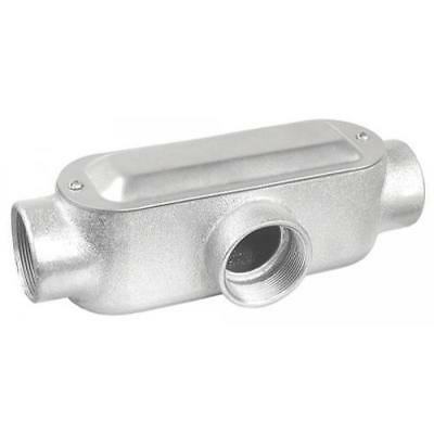 3-1/2 in. T Style Conduit Body, Malleable Iron
