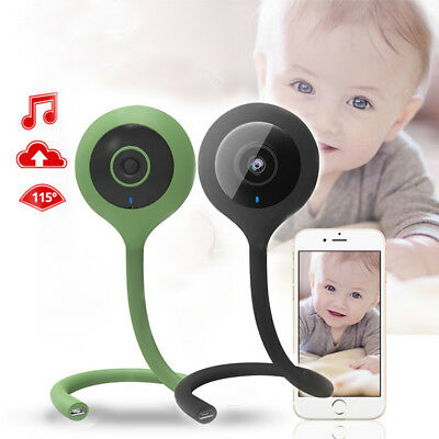 Wireless Baby Monitor Video Wifi Camera Night Vision 2 Way Audio Temperature