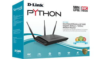 D-Link DSL-2888A PYTHON - Dual Band Wireless AC1600 Gigabit ADSL2+/VDSL2 Mode...