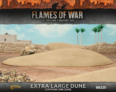 Flames of War - Extra Large Dune