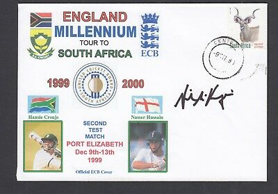 signed cricket FDC -England 2000 tour to South Africa-signed by Neil McKenzie