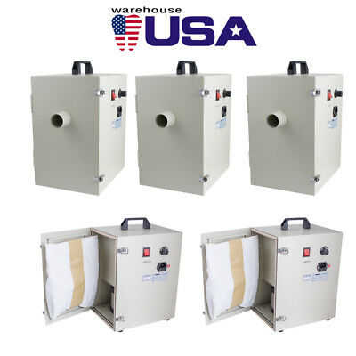 5pcs Dental Digital Dust Collector Collecting Machine Vacuum Cleaner Equipment