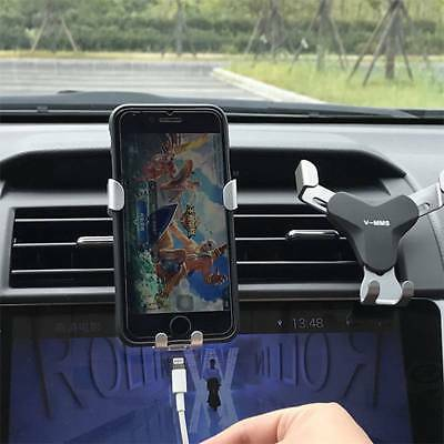 Universal Car Air Vent Monut Holder GPS Bracket for iPhone X 8 7 6 Plus Samsung