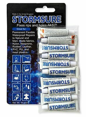 Stormsure Flexible Repair Adhesive 5g x 10 | SHOE GLUE, REPLACE HEEL
