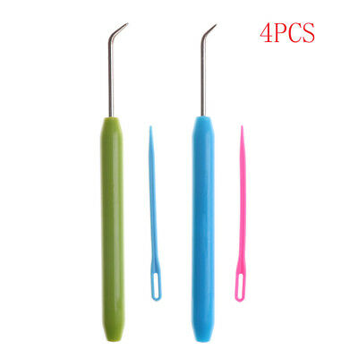 4pcs Needle and Hook Crochet Hook Set For Knifty Knitter & Knitting Loom Hook Tx
