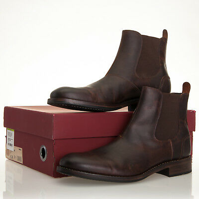 d207b262cda WOLVERINE 1000 MILE Montague Dark Bown Leather Chelsea Boot Mens 11.5 D  (W40205)