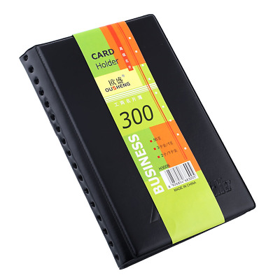 Name Bank Card Book Booklet Wallet Holder Case Cover Organiser Folder 300PCS