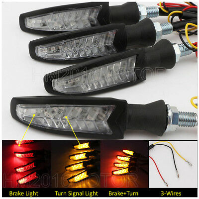 4x Motorcycle Turn Signals For Victory Hammer Jackpot High Ball Magnum V92 Vegas