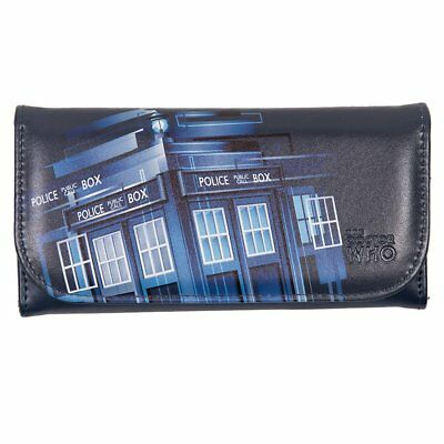 Doctor Who Embossed Women's Wallet: Retro TARDIS (Z0I)