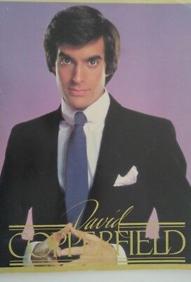 David Copperfield magic Program Tour 1984