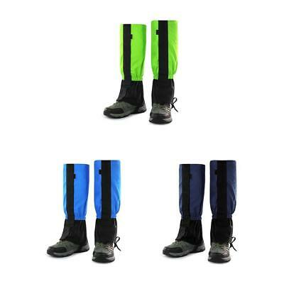 Waterproof Outdoor Hiking Snow Leg Legging Cover Gaiters Hunting Climbing EB