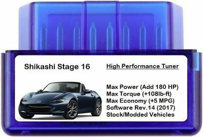 Stage 16 Power Performance Chip Tuner [Add 180HP 5 MPG ] OBD for Nissan Infiniti