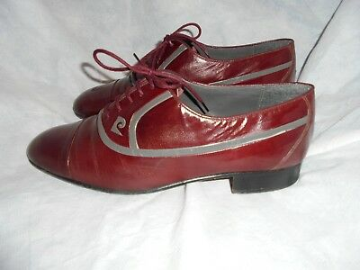 fbcd8261e507 Pierre Cardin Men's Burgundy Leather Lace Up Shoe Size Uk 7 Eu 41 Vgc