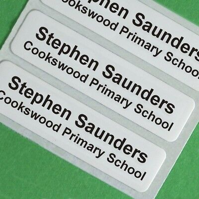 Iron on School Children's Clothes Name Labels, Tapes, Tags, Garment labels
