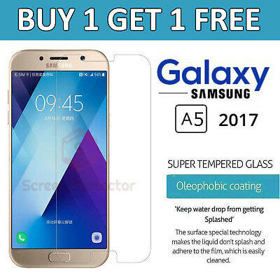 For Samsung Galaxy A5 2017 - 100% Genuine Tempered Glass Film Screen Protector