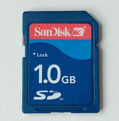 SanDisk 1GB SD Memory Card (BRAND NEW)