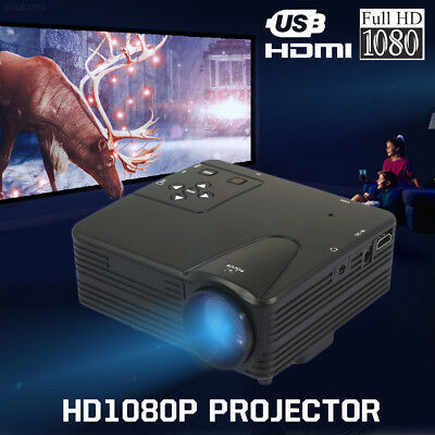 HD Projector Video Projector Multimedia System Home Theater TV PC Laptop School