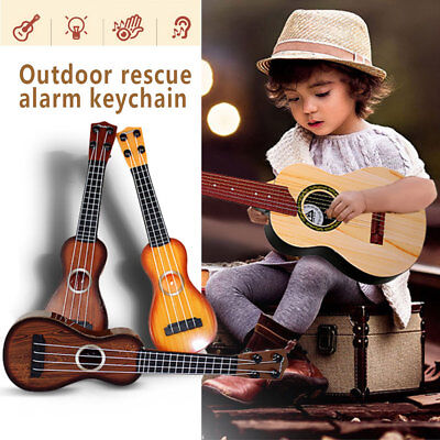 Musical Instruments Small Guitar Toy Ukulele New Year Gift Kids Beginners Child