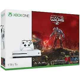 Xbox One S 1TB Console - Halo Wars 2 Bundle (Game Disc)