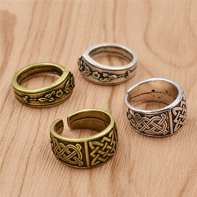 Nordic Viking Ring Zinc Alloy Bronze Silver Finger Rings Costume Jewellery Hot