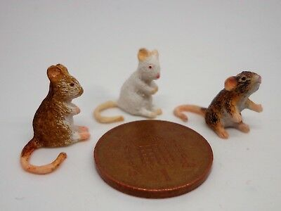 1:12 Scale Dolls House Miniature Mouse Pet Animal Accessory