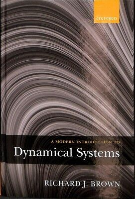 Modern Introduction to Dynamical Systems, Hardcover by Brown, Richard J., Bra...
