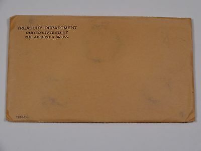 "1962-P US Mint Proof Set – ""UNOPENED ENVELOPE"""
