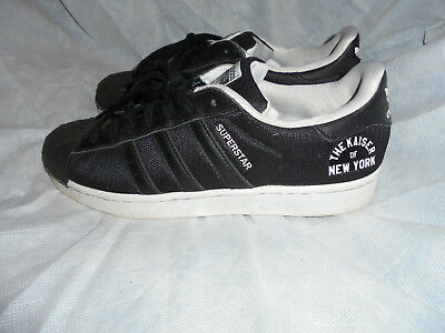 ADIDAS MEN SUPERSTAR Kaiser Of New York Lace Up Trainers