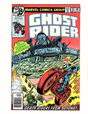 """Ghost Rider #33 (1978, Marvel) VF/NM """"Death Riders from Beyond!"""""""