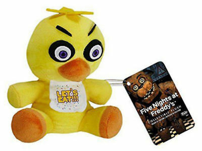 "NEW Funko FNAF Five Nights At Freddy's Nightmare Chica 6"" Plush Toy Doll Yellow"