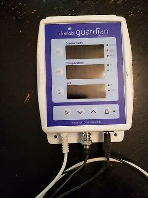 Used Bluelab - Connect Guardian Monitor - pH EC and Temperature Monitor Blue Lab