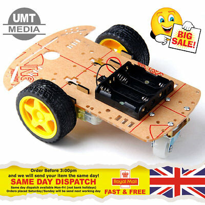2WD Robot Smart Car Chassis DIY Kits Intelligent Engine Arduino Raspberry Pi