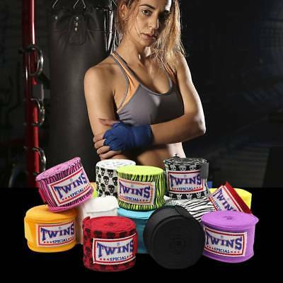 Hand Wraps Bandages Fist Boxing Inner Gloves Muay Thai MMA Strap Mitts Pair