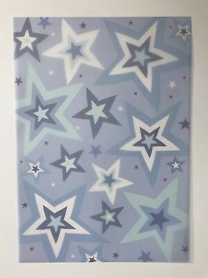 Cristina Re A4 Transparent Paper Scrapbooking Invitation - Star Power x 5