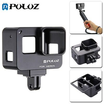 PULUZ for GoPro HERO(2018) /7 Black/6 Housing Shell CNC Aluminum Protective Cage