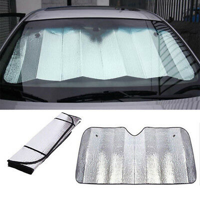 Gating Windshield Sunshade Foldable with 130x60cm Silver Windshield Car