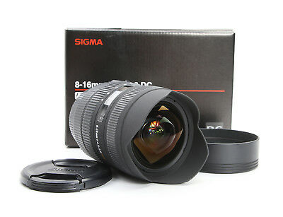 Sony Sigma 8-16 mm 4.5-5.6 DC IF Aspherical HSM + TOP (211442)