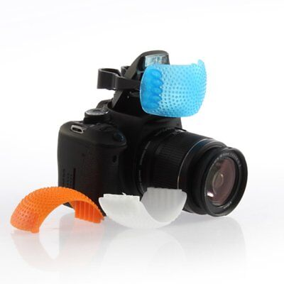 3 Color Soft Light Pop-Up Flash Diffuser Cover for Canon Nikon DSLR SLR Camera