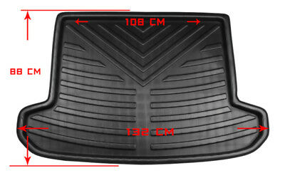 Car Rear Trunk Mat, Floor Mats Boot Cargo For Hyundai Tucson 2016-2018