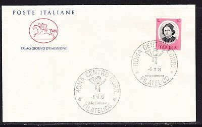 "Italy 1973 Painters - Verrochio  ""Official"" First Day Cover Unaddressed"